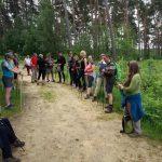 Balade en pleine conscience avec le club de marche nordique des Bons Villers