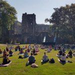 Jardin du yoga à Villers-la-Ville